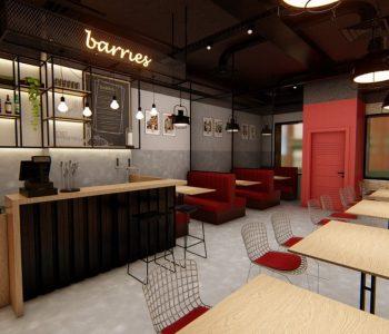 Amanda Leite Escritório de Arquitetura _Arquiteto em Curitiba_Restaurante Industrial 01
