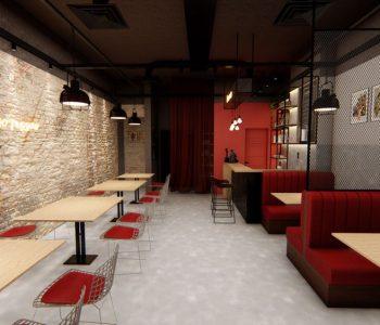 Amanda Leite Escritório de Arquitetura _Arquiteto em Curitiba_Restaurante Industrial 03