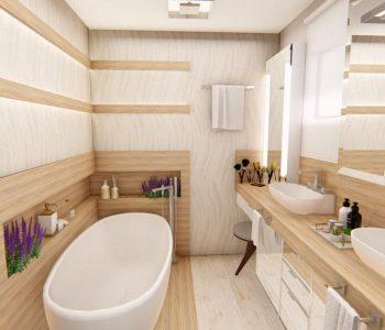 Amanda Leite Escritório de Arquitetura e Interiores - Arquiteto em Curitiba - Banheiro Moderno 02