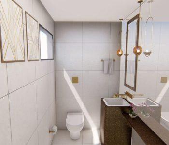 Amanda Leite Escritório de Arquitetura e Interiores - Arquiteto em Curitiba - Lavabo Moderno