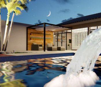 Amanda Leite Escritório de Arquitetura e Interiores - Arquiteto em Curitiba - Piscina 03