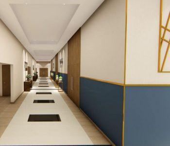 Amanda Leite Escritório de Arquitetura e Interiores - Arquiteto em Curitiba - Salão de Festas moderno 03