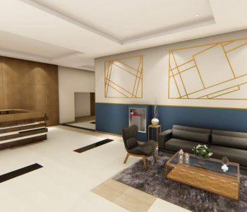 Amanda Leite Escritório de Arquitetura e Interiores - Arquiteto em Curitiba - Salão de Festas moderno 04