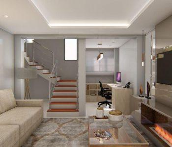 Amanda Leite Escritório de Arquitetura e Interiores - Arquiteto em Curitiba - Sala Sofisticada 02