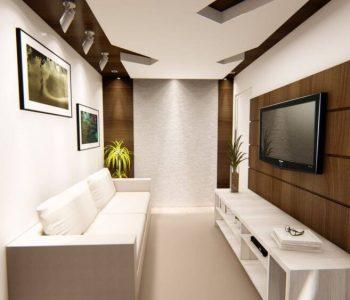 Amanda Leite Escritório de Arquitetura e Interiores - Arquiteto em Curitiba - Sala pequena moderna 01