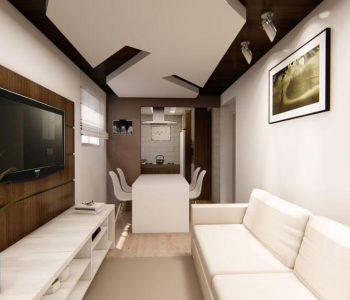 Amanda Leite Escritório de Arquitetura e Interiores - Arquiteto em Curitiba - Sala pequena moderna 02